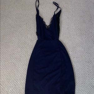 Lulus Navy Mini Dress